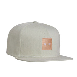 HUF DENIM BOX LOGO SNAPBACK SAGE