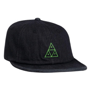 HUF FORMLESS DENIM TRIPLE TRIANGLE BLACK