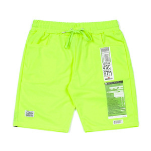 STIGMA IMMIGRATION COOLON SHORT PANTS NEON GREEN