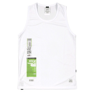 STIGMA IMMIGRATION COOLON SLEEVELESS WHITE