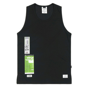 STIGMA IMMIGRATION COOLON SLEEVELESS BLACK