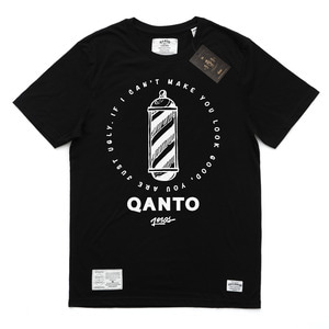 QANTO DE LOCOS UGLY MFG TEE_BLACK