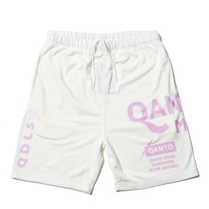 QANTO DE LOCOS MFG SHORTS_WHITE