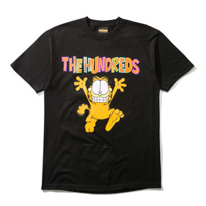 THE HUNDREDS X Garfield Run T-Shirt BLACK