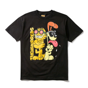 THE HUNDREDS X Garfield Odie T-Shirt BLACK