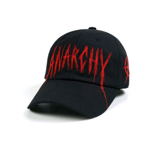 STIGMA ANARCHY BASEBALL CAP BLACK