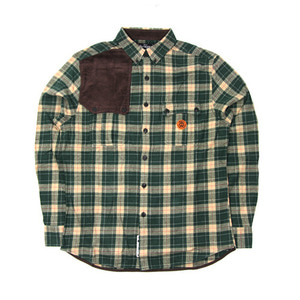 CROOKS & CASTLES MENS WOVEN HUNTER PLAID SHIRTS