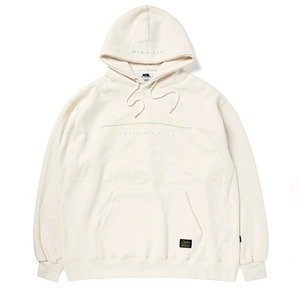 STIGMA GOOD LIFE OVERSIZED HEAVY SWEAT HOODIE BEIGE