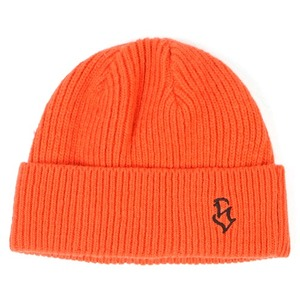 STIGMA S - LOGO WOOL SHORT BEANIE ORANGE