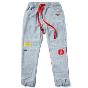 STIGMA STGM FLEECE JOGGER PANTS GREY
