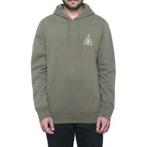 HUF MEMORIAL TRIANGLE P/O HOODIE DEEP OLIVE