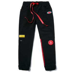 STIGMA STGM FLEECE JOGGER PANTS BLACK