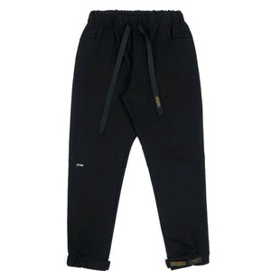 STIGMA STGM OXFORD WIDE JOGGER PANTS BLACK
