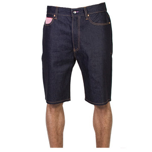 MISHKA VLADIMIR DENIM SHORTS