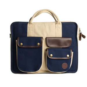 AMONGST FRIENDS DUCK CANVAS LAPTOP BAG [2]
