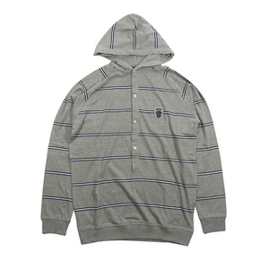 Crooks & Castles RoyalStripped Button hood