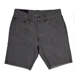 MISHKA Guillotine Twill Cut-Off Shorts (2)