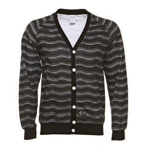 CROOKS & CASTLES WAVY KNIT CARDIGAN [2]