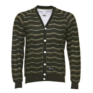 CROOKS & CASTLES WAVY KNIT CARDIGAN [3]