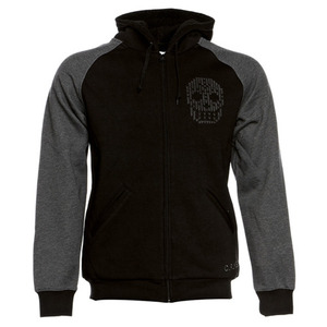 CROOKS & CASTLES Mens Knit Zip Hoody - Crks Skully [1]