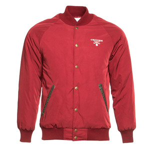 CROOKS & CASTLES Mens Woven Stadium Jacket - Praadigy [1]
