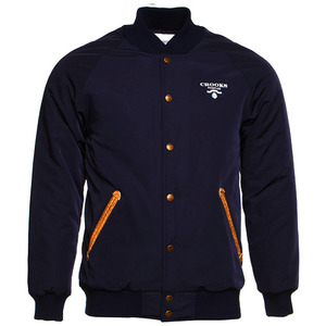 CROOKS & CASTLES Mens Woven Stadium Jacket - Praadigy [3]