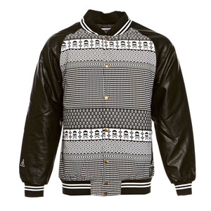 CROOKS & CASTLES Mens Woven Stadium Jacket - Fair Mile [1]