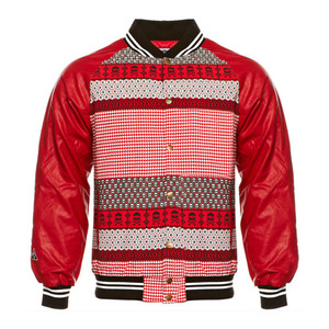 CROOKS & CASTLES Mens Woven Stadium Jacket - Fair Mile [2]