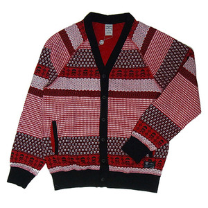 CROOKS & CASTLES Mens Knit Cardigan - Fair Mile [2]