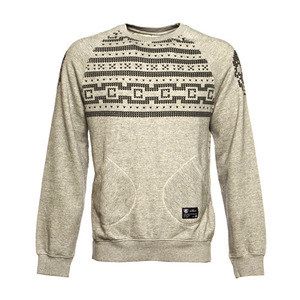 CROOKS & CASTLES Mens Knit L/S Crew Sweater - Lux Skull [2]