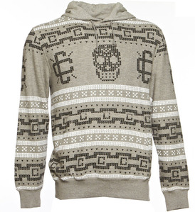 CROOKS & CASTLES Mens Knit Hooded Pullover - Fair Mile
