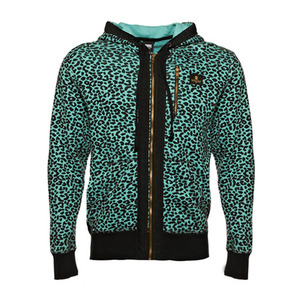 CROOKS & CASTLES Mens Knit Zip Hoody - Cheater [2]