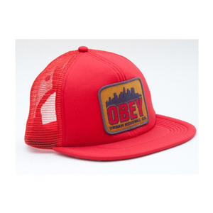 [40% SALE!]OBEY URBAN RENEWAL TRUCKER FASHION HAT [2]