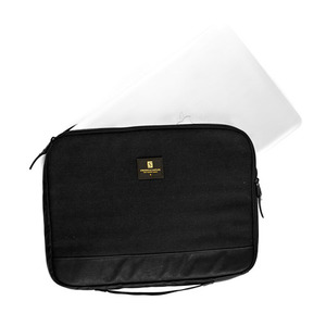 CROOKS & CASTLES Woven Laptop Sleeve  - Stealth
