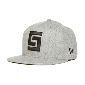 CROOKS & CASTLES Mens Woven Fitted Cap - Greco Logo [3]
