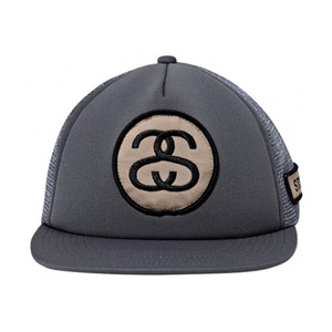 STUSSY BADGE TRUCKER BALLCAP [2]
