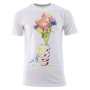 [40% SALE!]OBEY BEER FLOWER THRIFT TEE