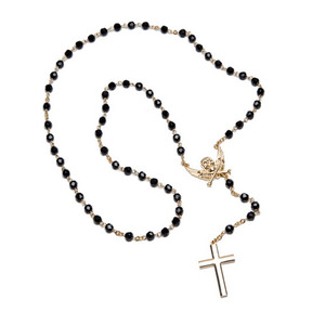 BLACK SCALE Forbidden Rosary, Gold