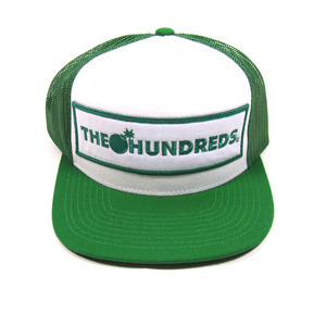 THE HUNDREDS CORNERS LOGO SNAPBACK [2]