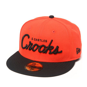 CROOKS & CASTLES Mens Woven Fitted Cap - Team Crooks [3]