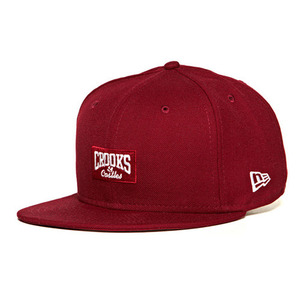 CROOKS & CASTLES Mens Woven Fitted Cap - Core Logo C [1]