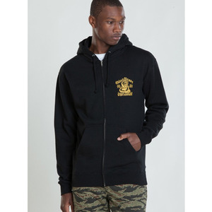 OBEY DEATH VALLEY ZIP HOOD FLEECE
