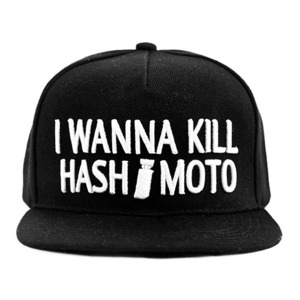 BAAL I WANNA KILL HASH*MOTO SNAPBACK