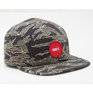 [40% SALE!]OBEY CIRCLE PATCH 5 PANEL [2]