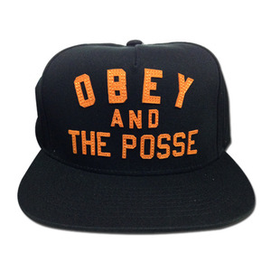 [40% SALE!]OBEY & THE POSSE SNAPBACK [1]