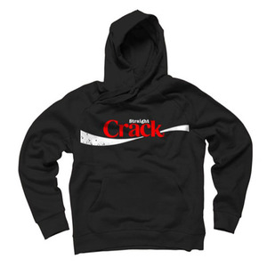 DISSIZIT Straight Crack Pullover Hoodie [1]