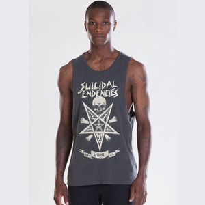 OBEY POSSESSED LIGHTWEIGHT SLIM FIT TANK