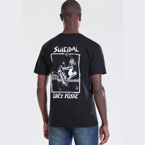 OBEY POOL SKATER REGULAR FIT TEE