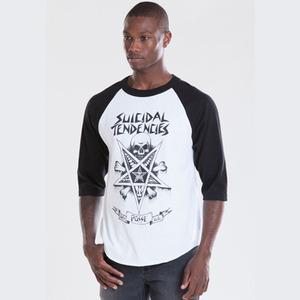 OBEY POSSESSED BASEBALL TEE