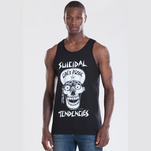 OBEY FLIP CAP SKULL REGULAR FIT TANK
